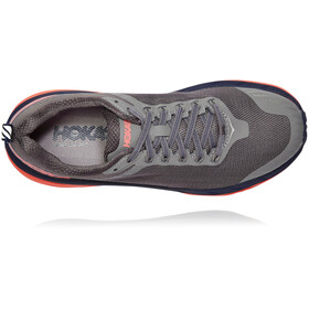 Hoka One One Challenger ATR 5 Running Shoes Dame charcoal gray/fusion coral